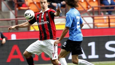Zlatan Ibrahimovic, F, AC Milan