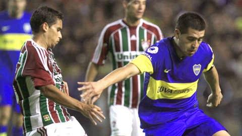 Argentina's Boca Juniors' Juan Roman Riquelme