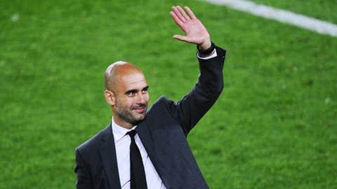 Pep Guardiola, manager, unemployed