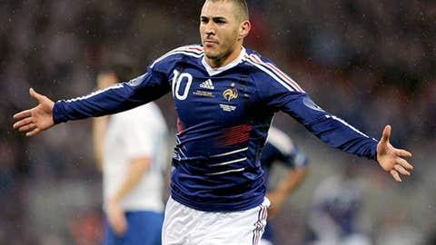 Karim Benzema, France