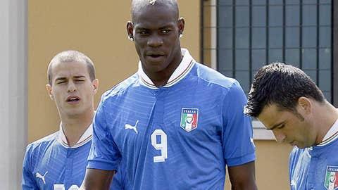 Mario Balotelli, Italy