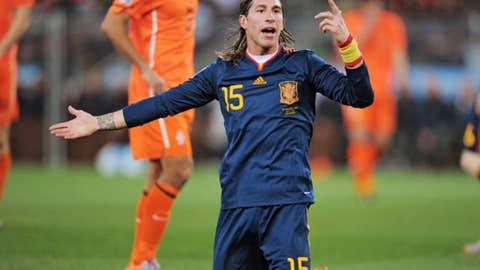 Sergio Ramos, Spain