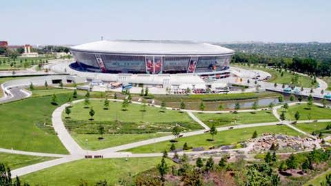 Donbass Stadium, Donetsk, Ukraine