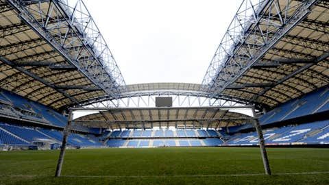 Municipal Stadium, Poznan, Poland