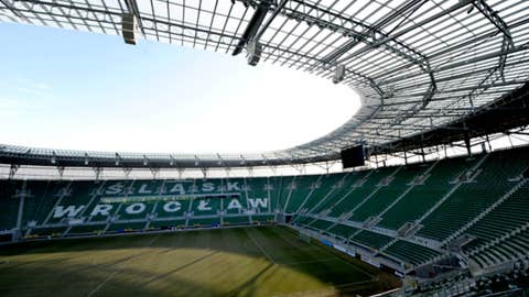 Municipal Stadium, Wroclaw, Poland