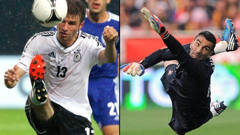 Germany vs. Portugal, June 9 in Lviv, Ukraine