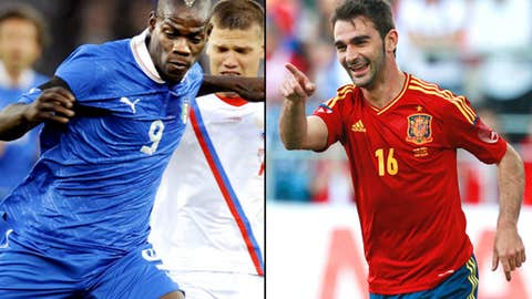 Spain vs. Italy, June 10 in Gdasnk, Poland