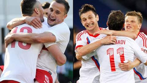 Poland vs. Russia, June 12 in Warsaw, Poland