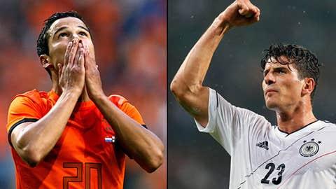 Holland vs. Germany, June 13 in Kharkiv, Ukraine