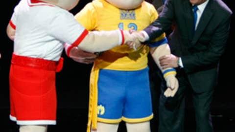 Euro mascots
