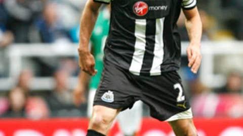 Fabricio Coloccini, D, Newcastle United