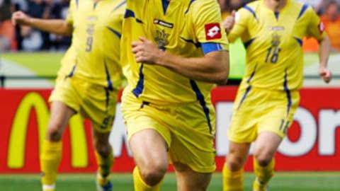 Andrei Shevchenko, Ukraine