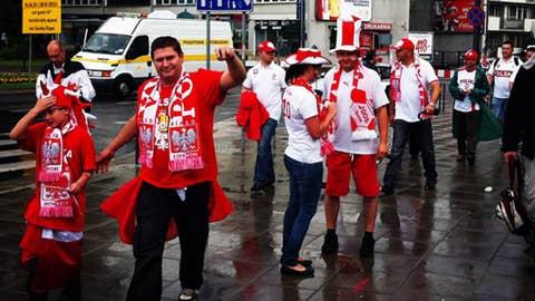 Poland representing