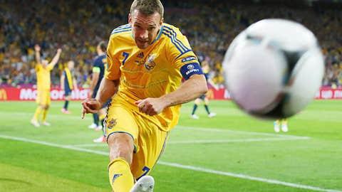 Ukraine 3-1 Sweden