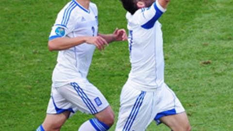 Greece 1-2 Czech Republic