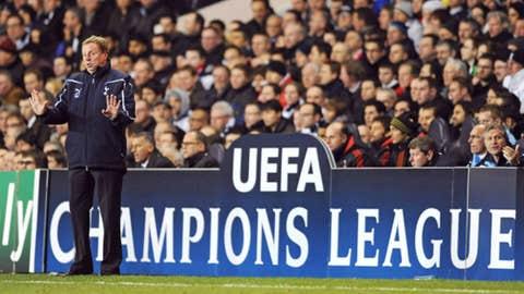 Tottenham Hotspur v AC Milan Harry Redknapp