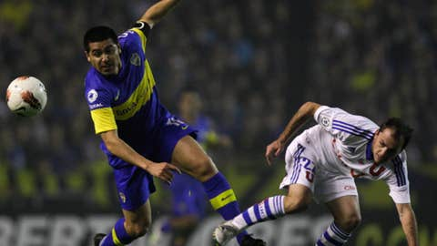 Boca Juniors vs. Universidad de Chile