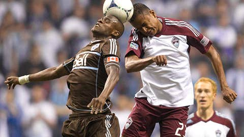 Vancouver Whitecaps 1- Colorado Rapids