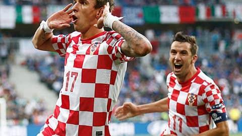 Mario Mandzukic, CF, Croatia