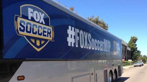 FOX Soccer bus