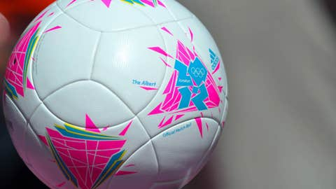 Olympic soccer ball