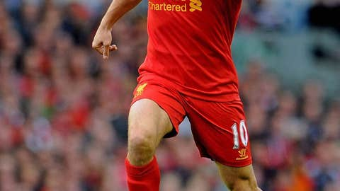 Joe Cole, M, Liverpool