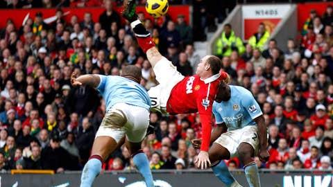Wayne Rooney: Man United vs. Man City, 2010/11