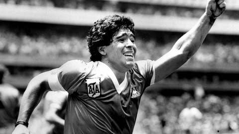 Diego Maradona: Argentina v England, 1986 World Cup