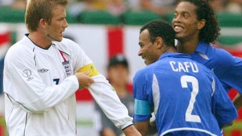 Ronaldinho: England vs. Brazil, 2002 World Cup quarterfinal
