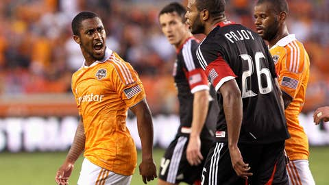 DC United vs. Houston Dynamo (Dynamo leads 3-1 on aggregate)