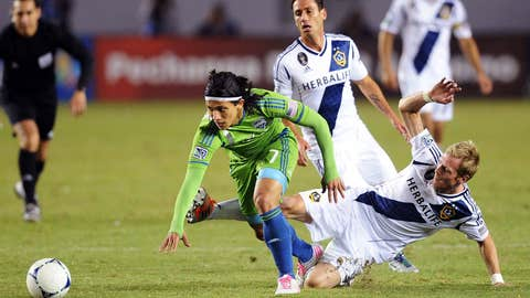 Seattle Sounders vs. Los Angeles Galaxy (LA leads 3-0 aggregate)