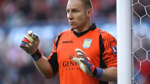 GK Brad Guzan, Aston Villa
