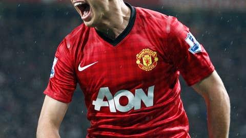 Javier Hernandez, F, Manchester United