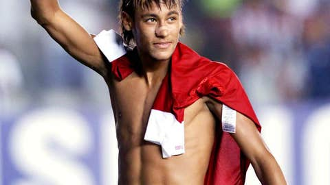 Hat-trick in Copa Libertadores, March 7, 2012