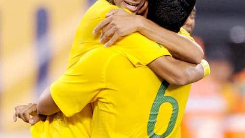 Brazil senior debut, August 10, 2010