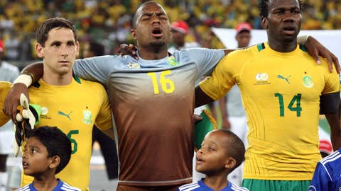 Most emotional moment – Singing of the South African anthem