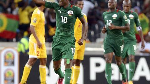 Best goal – Alain Traore's 2nd, Burkina Faso v Ethiopia
