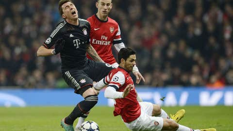 Arsenal vs. Bayern Munich
