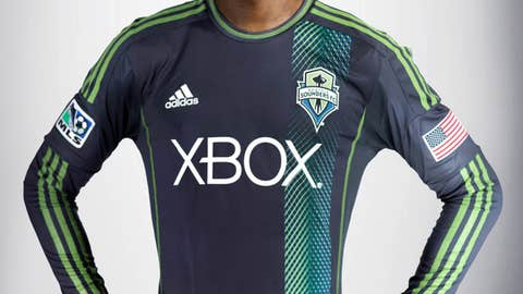 Seattle Sounders - Secondary jersey