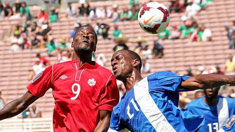Tosaint Ricketts #9 of Canada