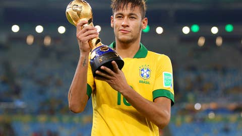 Best player at the 2013 Confed Cup