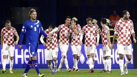 Croatia 2, Iceland 0