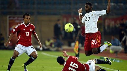 Egypt 2, Ghana 1