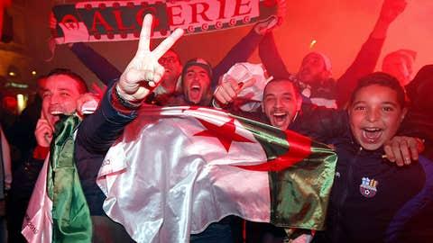 Algeria 1, Burkina Faso 0