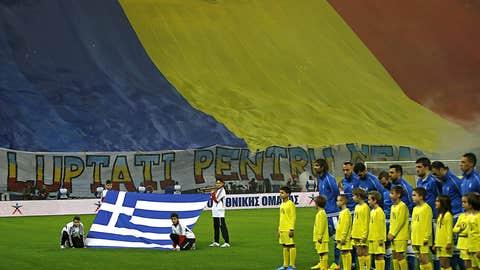 Romania 1, Greece 1