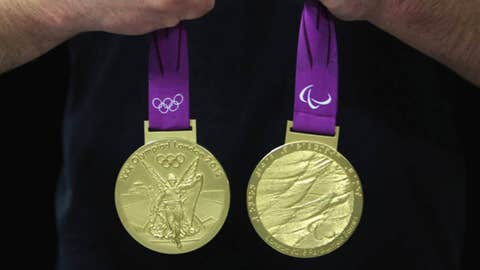 Production begins on the London 2012 victory medals