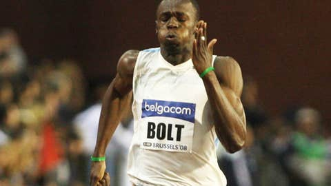 THE BET: Will rain fall during the men's 100-meter final?