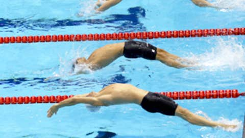 Backstroke beauty