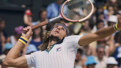 1977: Bjorn Borg vs. Jimmy Connors