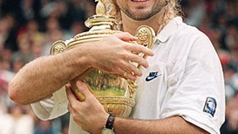 1992: Andre Agassi vs. Goran Ivanisevic